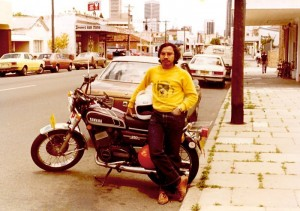 1981 November - at Williams Street, Perth, W.A. The Perth Mosque was to the right of the picture.