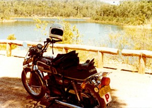 1982 January - at Serpentine Dam, Jarrahdale, Perth, W.A.