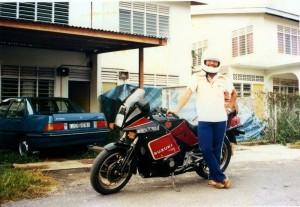 1986 August - Taman Seri Semantan, Temerloh, Pahang, Malaysia.