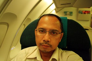 In seat 11K on MH123 KUL-SYD flight