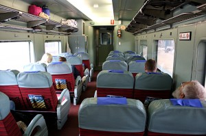 Indian Pacific Red DayNighter (Seat) Service