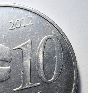 Another part of Malaysia's year 2012 new 10 sen coin.