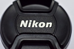 Nikon logo on 50mm f/1.8 lens cap.