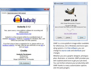audacity gimp